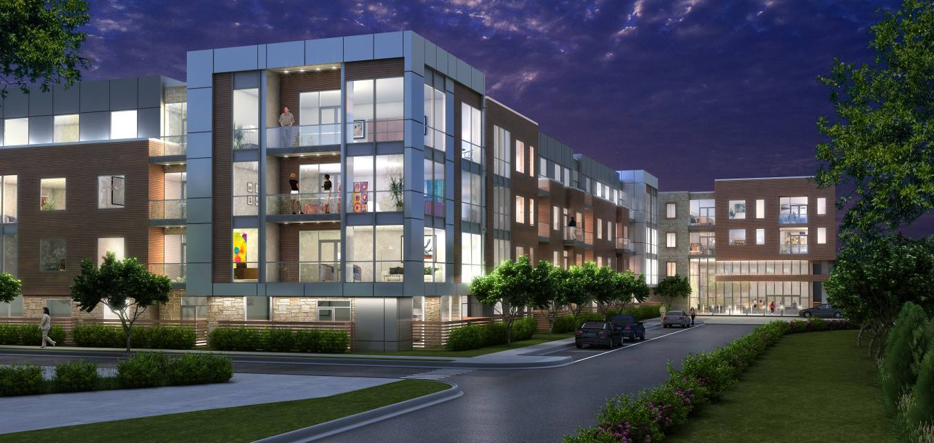 Stearn joglekar ltd a 297000 square feet luxury apartment project with a 135000 square feet parking garage the malvernweather Choice Image